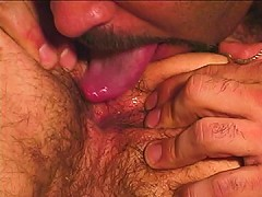 Hairy asshole licked and fucked